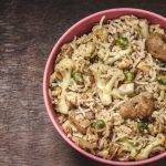 soyabeen fried rice