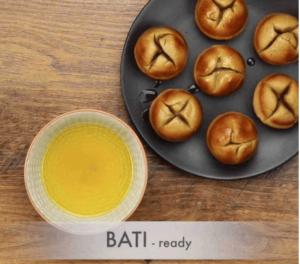 दाल बाटी और चूरमा कैसे बनाते है? How to make Dal Bati in appe pan In Hindi? ||With Photo||  Step 19