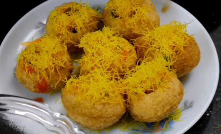 बाजार जैसी सेव पूरी कैसे बनाये? How to make Sev puri chaat at Home with Photo (Step By Step in Hindi) Step 11